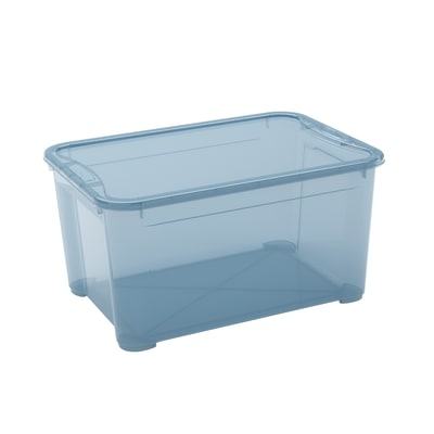 Scatola T Box L L 55,5 x P 39 x H 28,5 cm azzurro