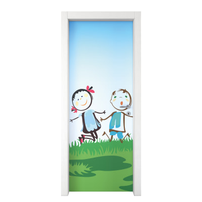 Porta da interno battente Junior 80 x H 210 cm sx