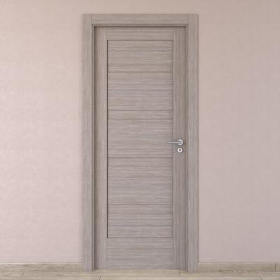Porta da interno battente Capena 1 sabbia 60 x H 210 cm sx