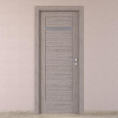 Porta da interno battente Capena 2 sabbia 60 x H 210 cm sx