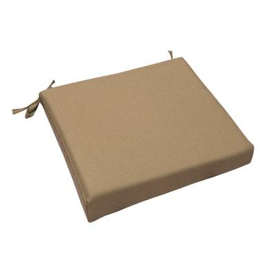 Cuscino seduta tortora 37 x 40 cm