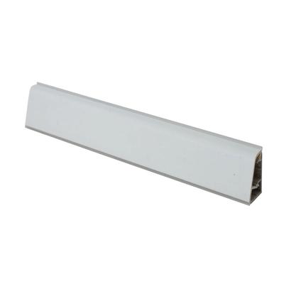 Alzatina su misura Calce Scraper alluminio grigio H 3 cm