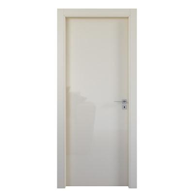 Porta da interno battente Massaua ivory avorio 80 x H 210 cm sx