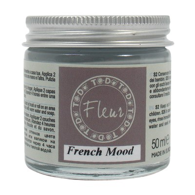 Idropittura traspirante french mood 50 ml Fleur