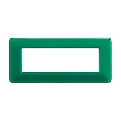 Placca 6 moduli BTicino Matix smeraldo