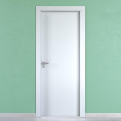 Porta da interno battente Cream bianco 60 x H 210 cm reversibile