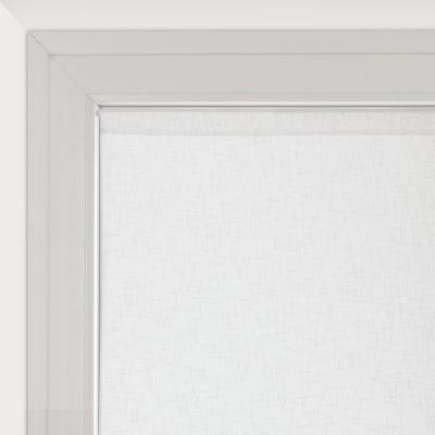 Tendina a vetro per finestra Manuela naturale 75 x 160 cm