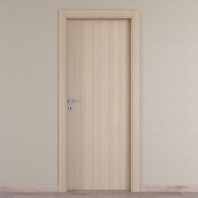 Porta da interno battente Young rovere sbiancato 70 x H 210 cm reversibile
