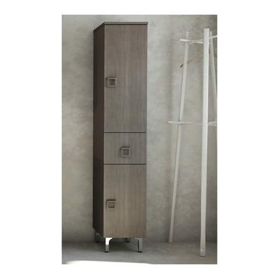 Colonna Norah new rovere 2 ante, 1 cassetto L 30 x H 156 x P 33,5 cm