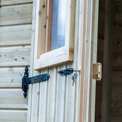 casetta in legno Alby 2,22 m², spessore 19 mm