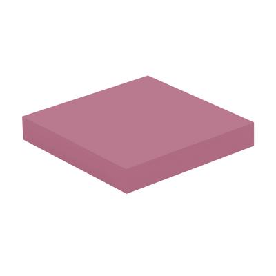 Mensola Spaceo rosa L 23,5 x P 23,5, sp 3,8 cm