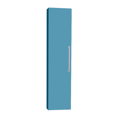 Colonna Ginevra SX azzurro 1 anta L 32 x H 140 x P 16 cm