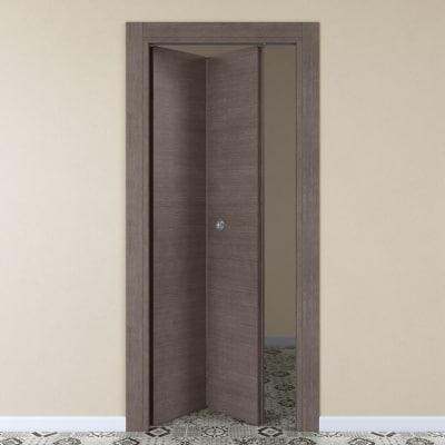 Porta da interno pieghevole Autumn 80 x H 210 cm sx