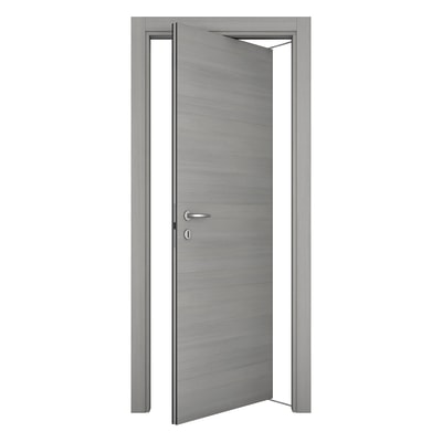Porta da interno rototraslante Resort larice ghiaccio 80 x H 210 cm sx