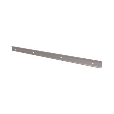 Profilo di giunzione alluminio spazzolato L 670 cm