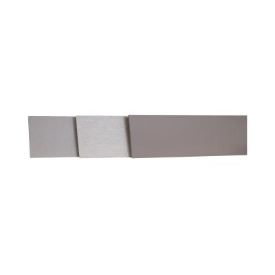 Alzatina su misura Calce Scraper laminato grigio H 10 cm