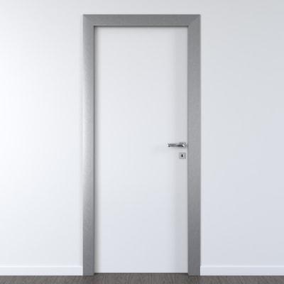 Porta per ufficio battente Frame eco bianco 70 x H 210 cm sx