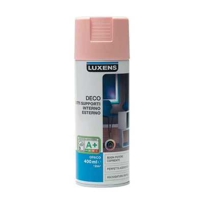 Smalto spray Deco Luxens Rosa Blush 5 opaco 400 ml