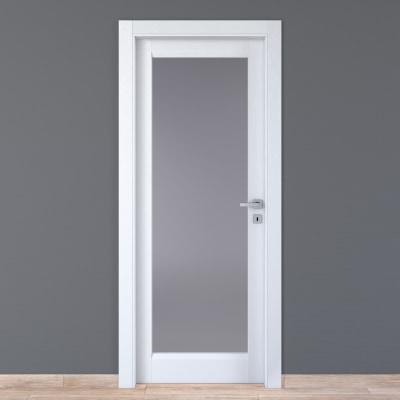 Porta da interno battente Bellatrix bianco 60 x H 210 cm sx