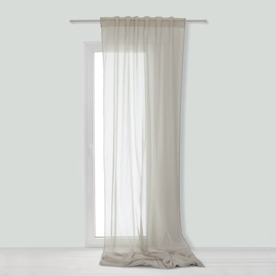 Tenda Linette grigio 145 x 300 cm