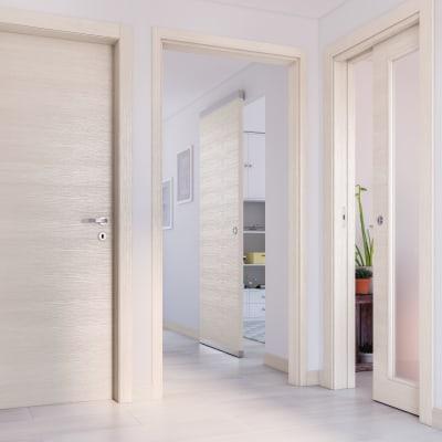 Porta da interno pieghevole Lucad Graf Matrix 80 x H 210 cm dx