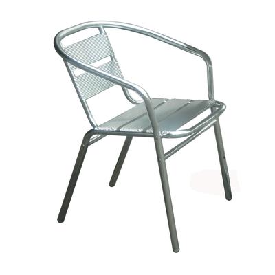 Sedia impilabile Alu 003 alluminio