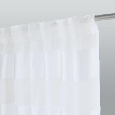Tenda Maryline bianco 140 x 280 cm