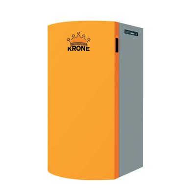 Caldaia a pellet Krone Boiler16KR 14,4 kW arancio e grigio