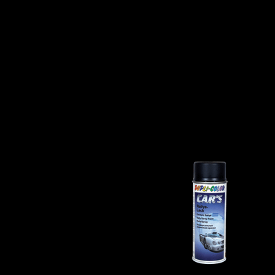 Smalto spray Cars nero satinato 400 ml