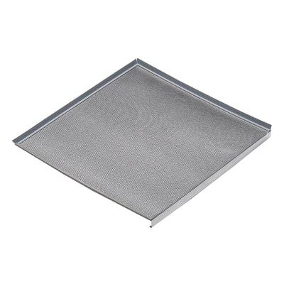 Fondo sottolavello alluminio L 76,4 x P 52,6 x H 3 cm