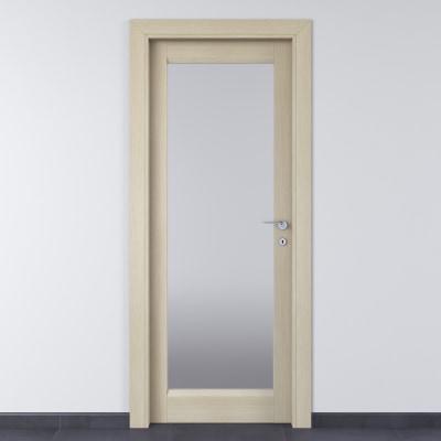 Porta da interno battente Shaula paglia 70 x H 210 cm sx