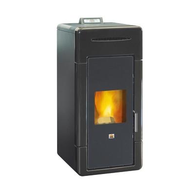 Termostufa a Pellet Krone IDRO.CERAMIC24-KKR 21,96 kW nero