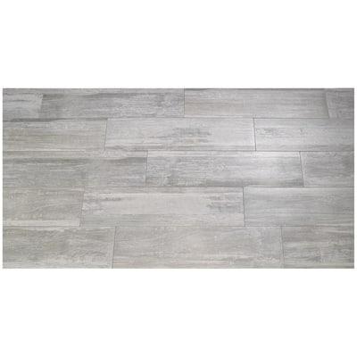 Piastrella Tundra 18 x 62 cm grigio