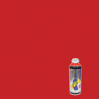 Smalto spray Platinum rosso traffico RAL 3020 satinato 400 ml