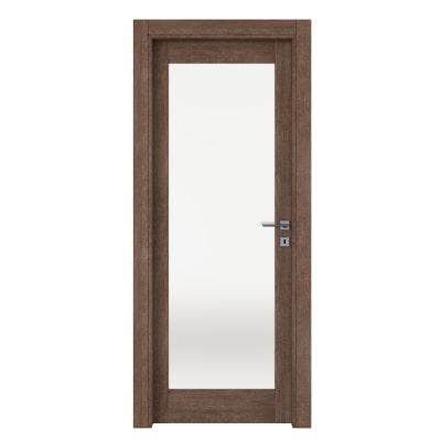 Porta da interno battente Gacrux tabacco 70 x H 210 cm sx