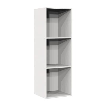 Struttura Multikaz bianco L 31,7 x P 35,2 x H 103,2 cm