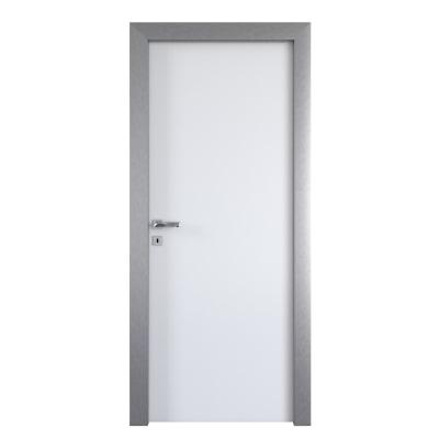 Porta per ufficio battente Frame eco bianco 60 x H 210 cm dx