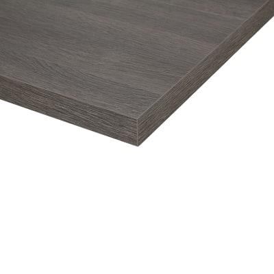 Piano cucina su misura laminato City grigio 6 cm