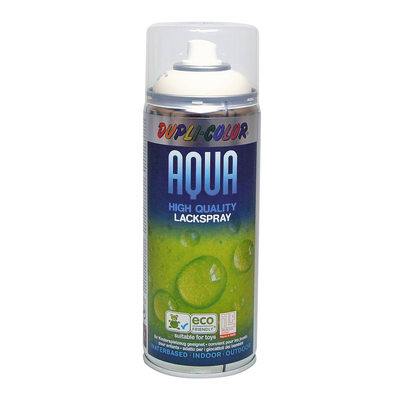 Smalto spray Aqua bianco crema RAL 9001 Lucido 350 ml
