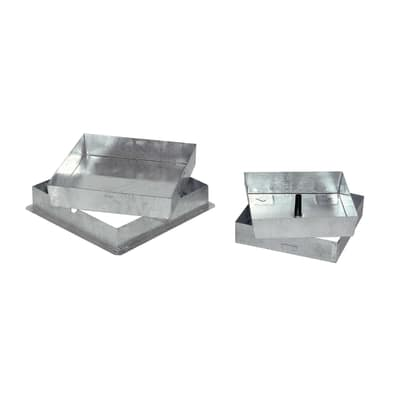 Sigillo zincato 530 x 530 x 50 mm