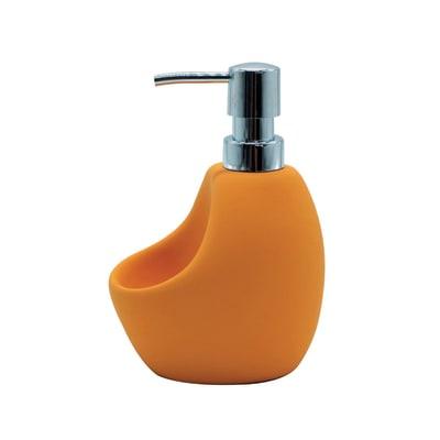 Porta sapone giallo L 10 x P 12 x H 16,5 cm