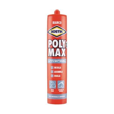 Colla per fissaggio e sigillature poly max universale 465 gr Bostik 465 g