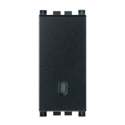 Deviatore 16A 1P illuminabile Vimar Arké 0R19005 grigio