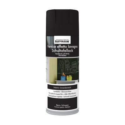 Smalto spray Lavagna Rustolium nero opaco 400 ml