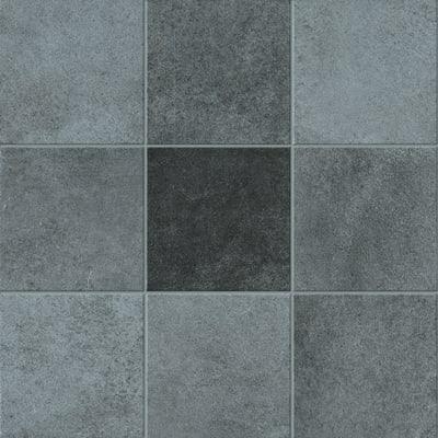 Piastrella Cement 10 x 10 cm antracite