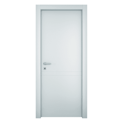 Porta da interno battente Rail bianco 80 x H 210 cm dx