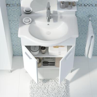 Mobile bagno Rimini bianco L 75 cm