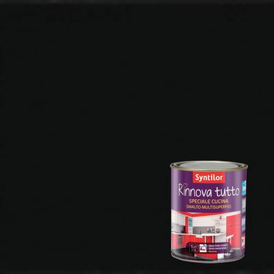 Smalto rinnova tutto syntilor nero opaco 1 l prezzi e offerte online leroy merlin - Syntilor rinnova tutto bagno ...