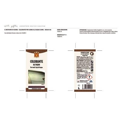 Colorante Gubra castagno 250 ml