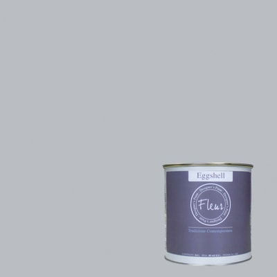 Smalto manounica Fleur Eggshell all'acqua all about Grey satinato 0.75 L